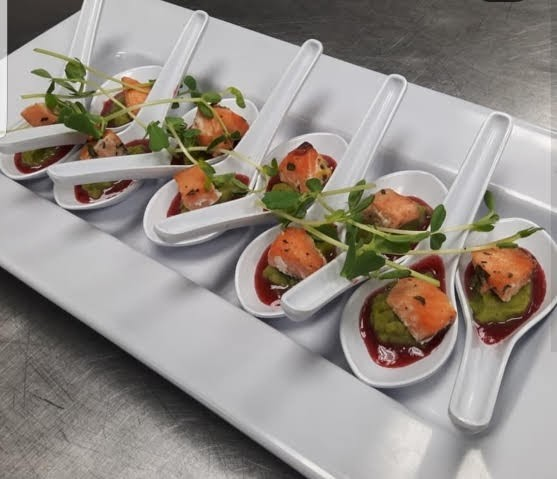 appetizer salmon